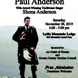 Scottish Fiddler Paul Anderson