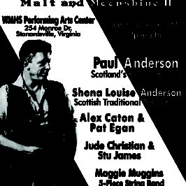 Scottish Fiddler Paul Anderson Concert
