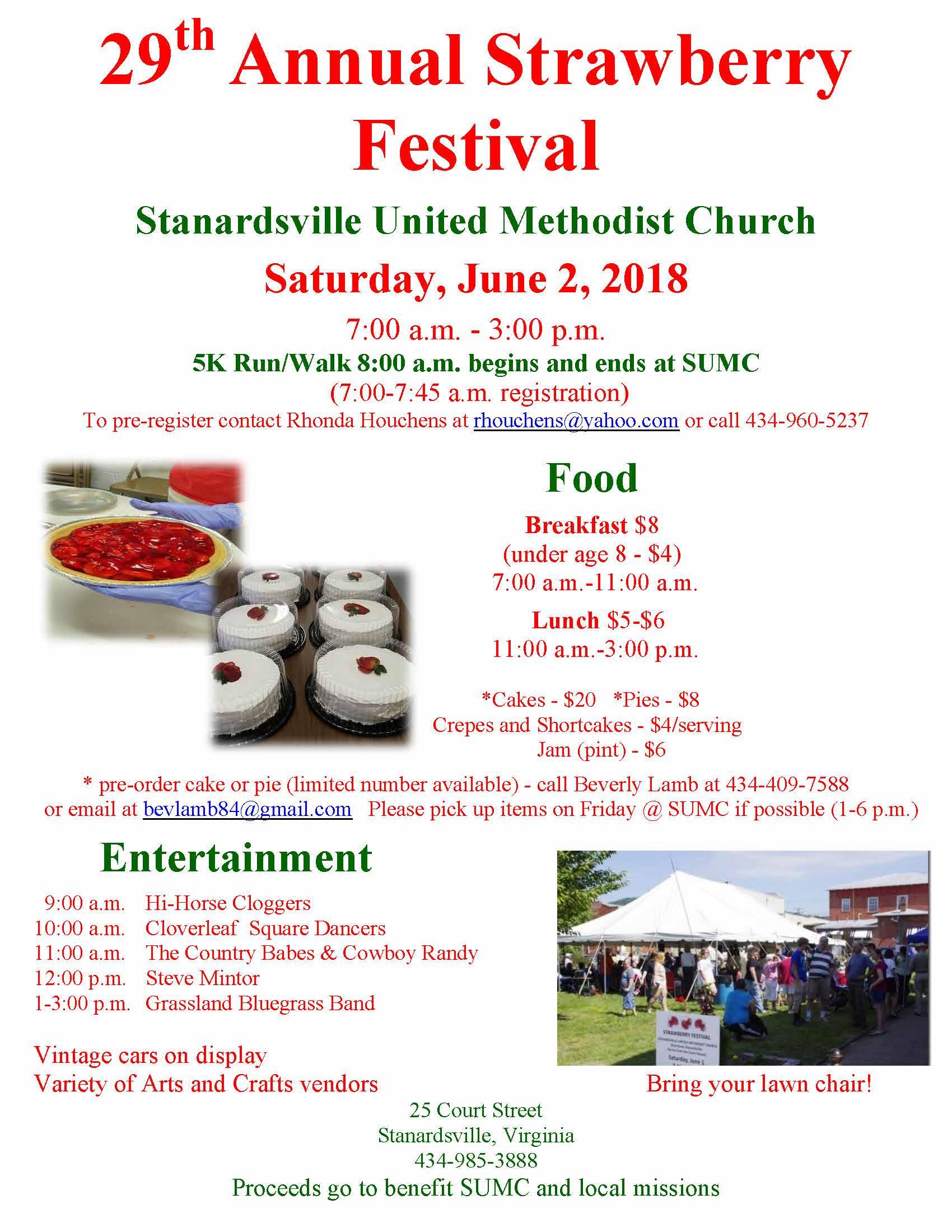 Strawberry Festival | Town of Stanardsville